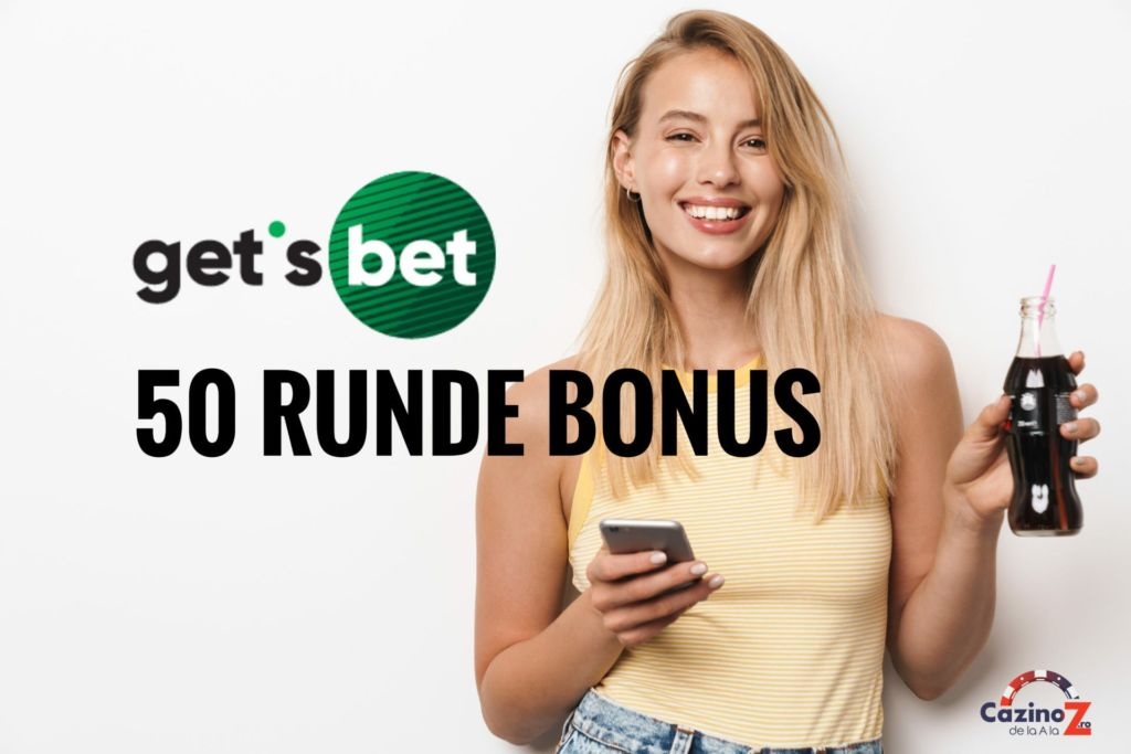 Exclusiv! 50 de runde bonus de bun venit pe Get's Bet