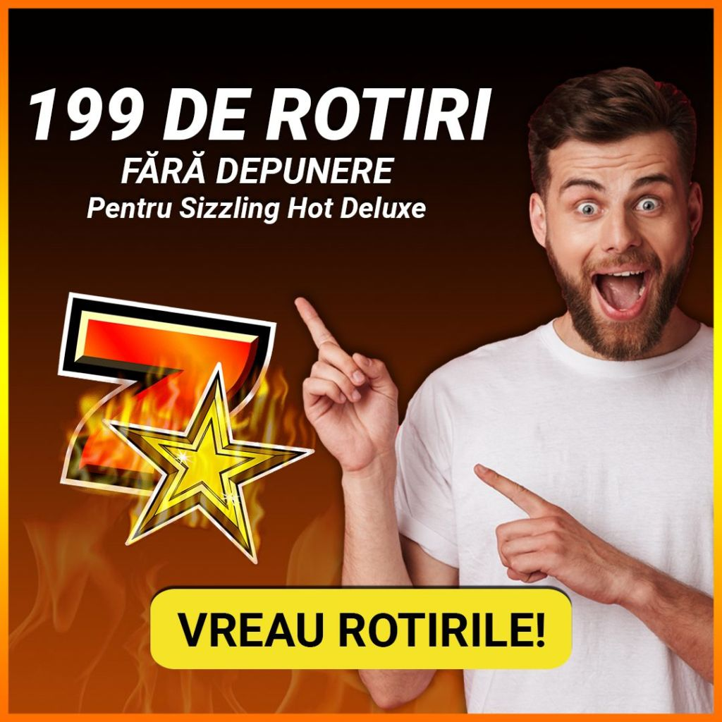 Exclusiv! 199 ROTIRI FARA DEPUNERE la Superbet! Oferta limitata!